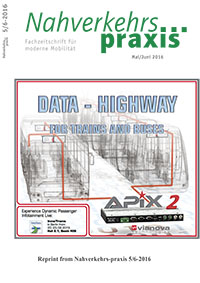 APIX-Data Highway for Trains and Buses